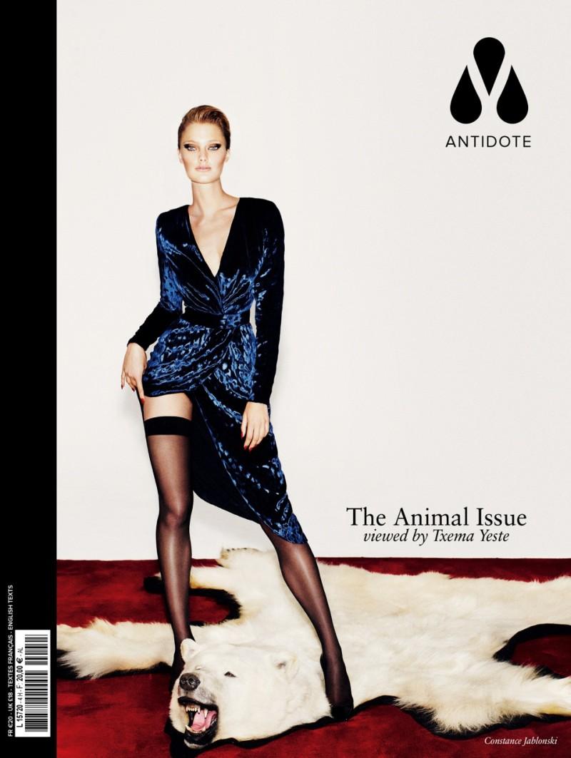 Daphne Groeneveld, Jac Jagaciak, Liu Wen, Crystal Renn and Others Cover Antidote's Animal Issue