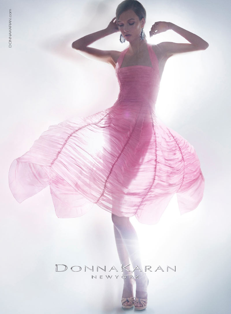 Karlie Kloss is an Ethereal Vision in Donna Karan's Resort 2013 Campaign