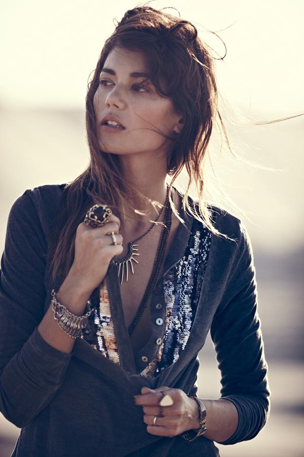 Sheila Marquez Dons Desert Style for Free People's October Lookbook