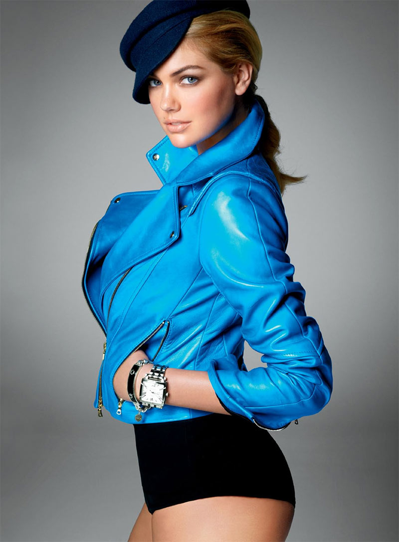 Kate Upton Appears in Vogue US' November Issue, Lensed by Steven Meisel