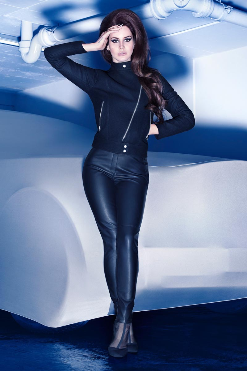 Lana del Rey Has the Fuel for H&M's Winter 2012 Campaign by Sølve Sundsbø