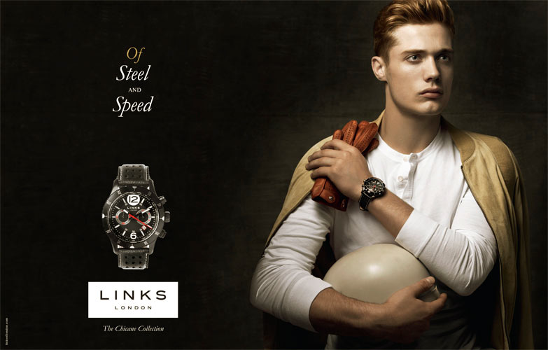 Codie Young Stars in Links of London's Fall 2012 Campaign by Jean-Francois Campos