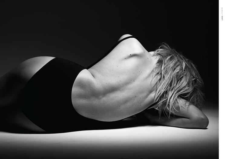 Anastasia Bondarenko Poses for Paul de Luna in WestEast Magazine F/W 2012