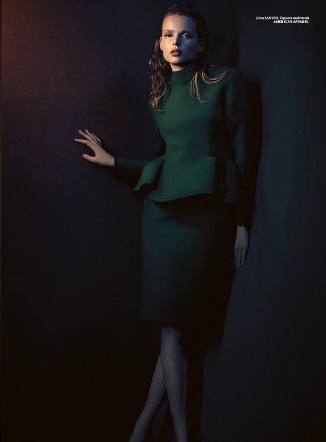 Svea Kloosterhof Wears Sleek Style for Used Magazine