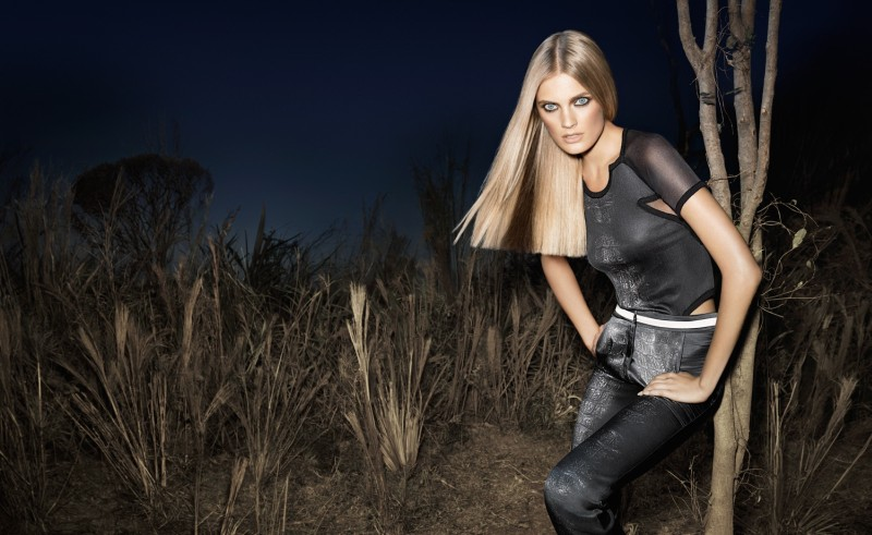 Constance Jablonski is Queen of the Night for Animale's Spring 2013 Campaign