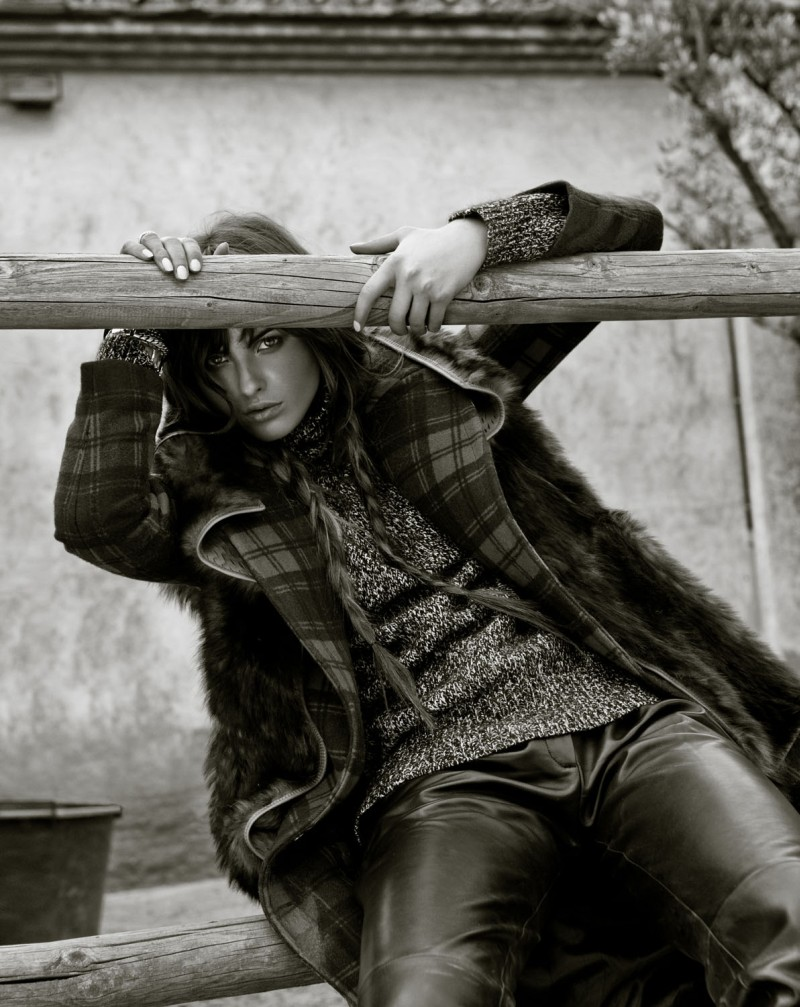 Dennison Bertram Shoots Country Style for Marie Claire Netherlands November 2012