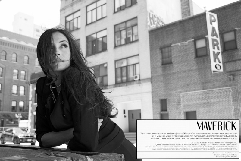 Famke Janssen Stars in the Cover Story of So Chic #29 by Eric Guillemain