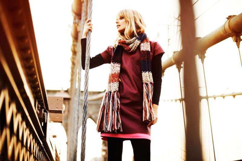 Julia Stegner Lights Up Reserved's Fall 2012 Campaign