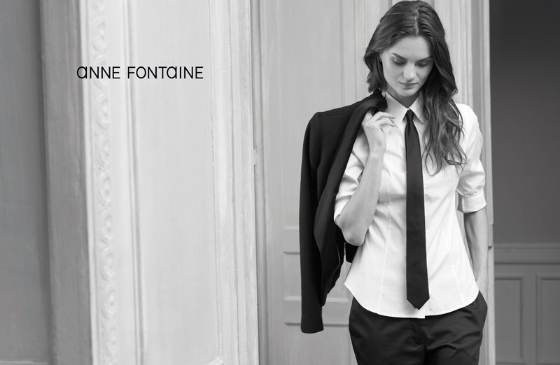 Anouck Lepere for Anne Fontaine Spring 2012 Campaign by Eric Guillemain