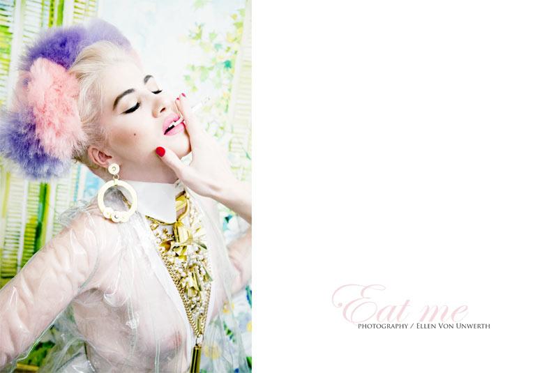 Angeleno Lauren Avery by Ellen von Unwerth for Schon #16