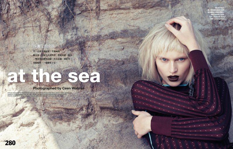 Valeria Dmitrienko by Ceen Wahren for Vogue Taiwan