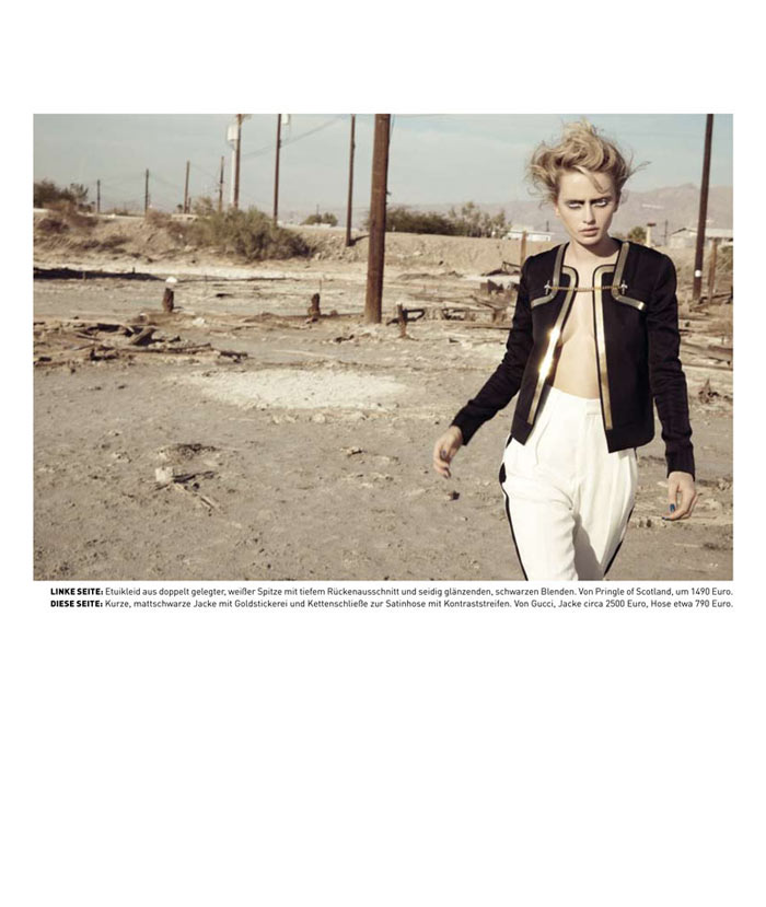 Annabella Barber by Jamie Nelson for Madame Germany March 2012