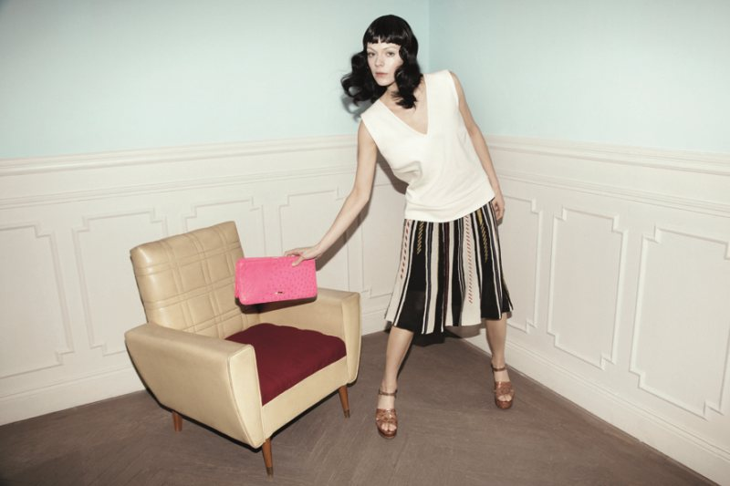 Kinga Rajzak for Bimba & Lola Spring 2012 Campaign by Alice Rosati