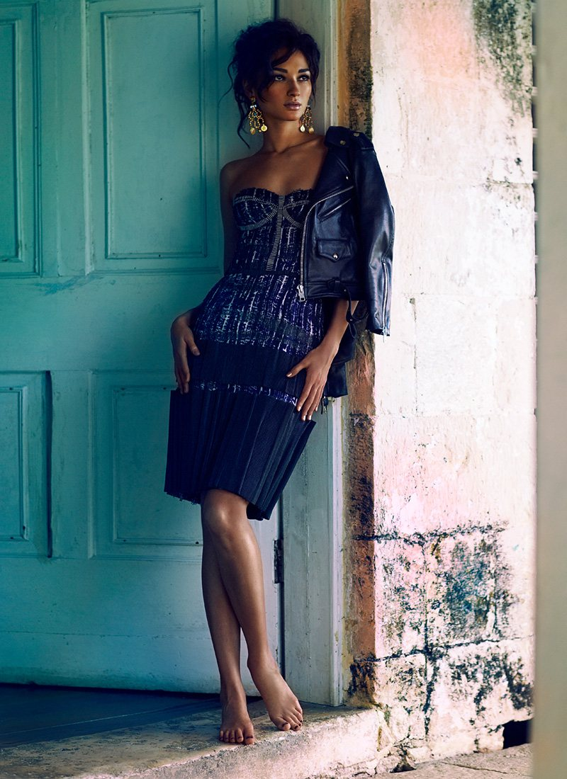 Bruna Tenorio by Chris Nicholls for Flare March 2012