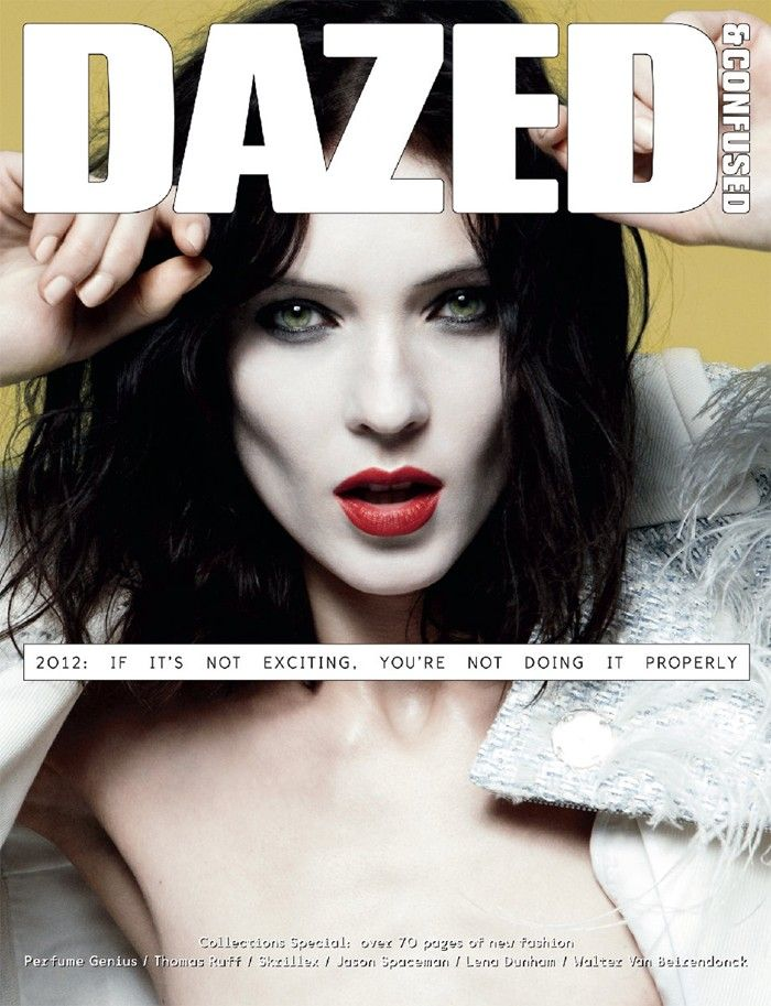 Kati Nescher, Frida Aasen, Erjona Ala & Lara Mullen Cover Dazed & Confused March 2012