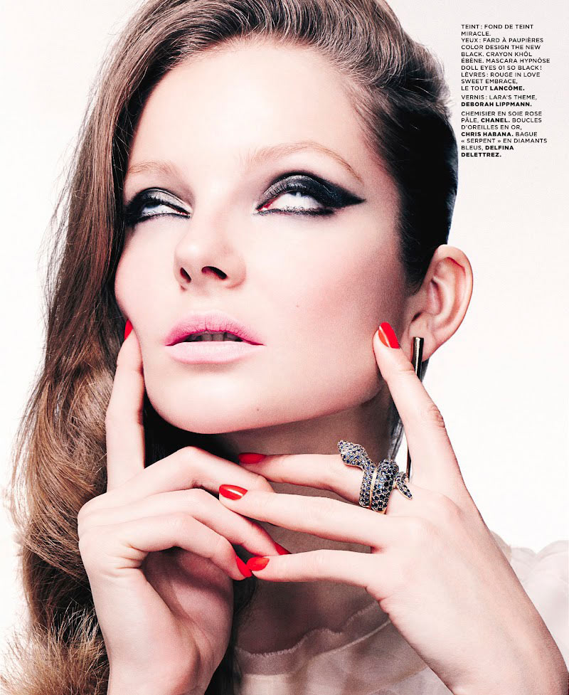 Eniko Mihalik by Christian Anwander for M Le Monde February 2012