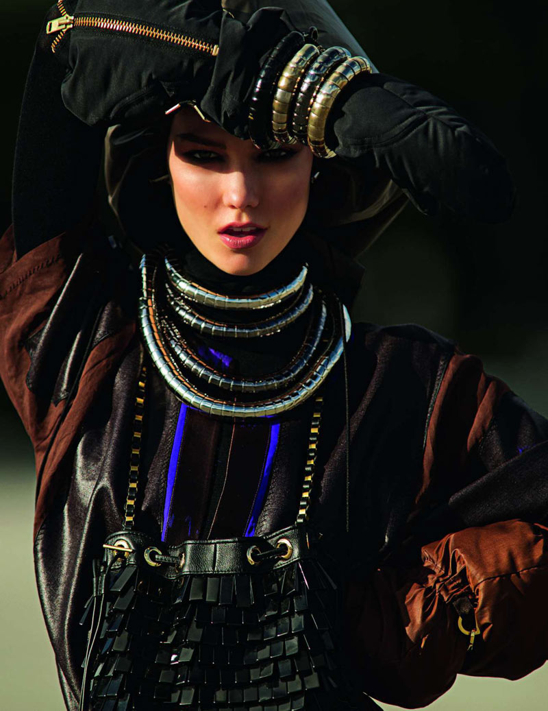 Karlie Kloss by Hans Feurer for Vogue Paris March 2012
