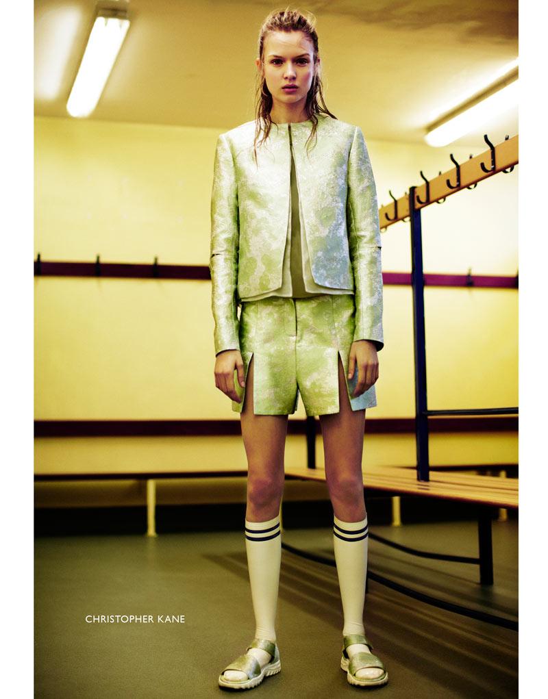Josephine Skriver by Emma Tempest for Dansk S/S 2012