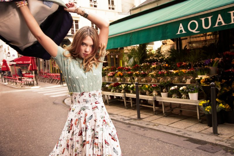 Léa Seydoux by Eric Guillemain for ASOS April 2012