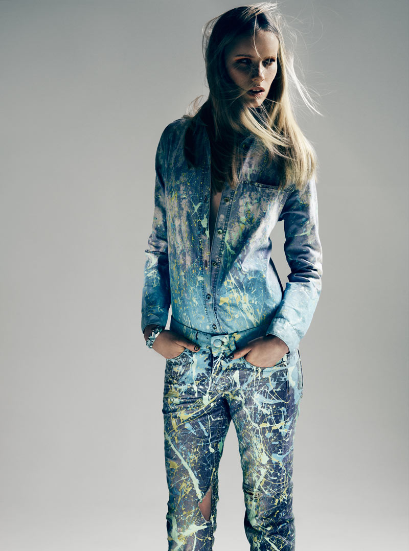 Sally Jonsson by Tobias Lundkvist for Rodeo Magazine