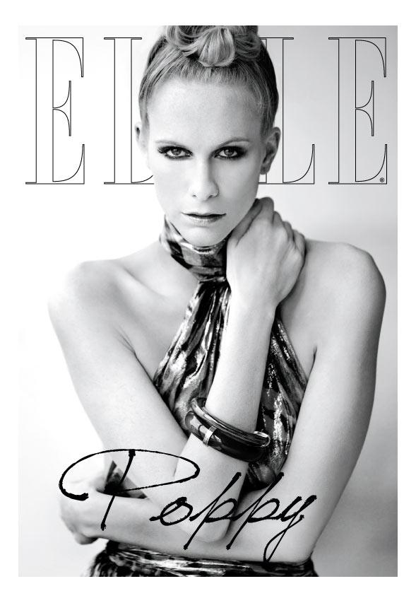 Elle Mexico March 2012 Cover | Poppy Delevingne by Santiago Ruiseñor