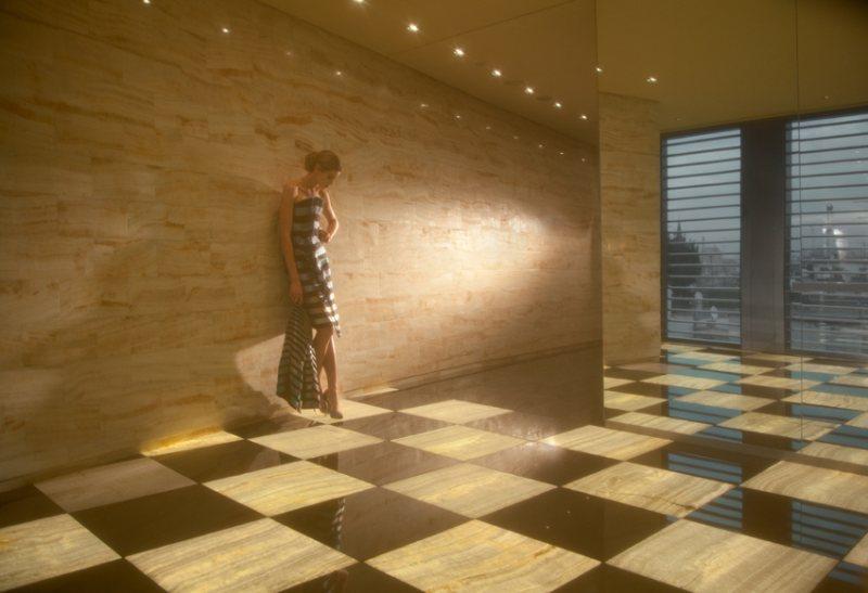 Vanessa Hessler by Peppe Tortora in Giorgio Armani for Grey Magazine #6