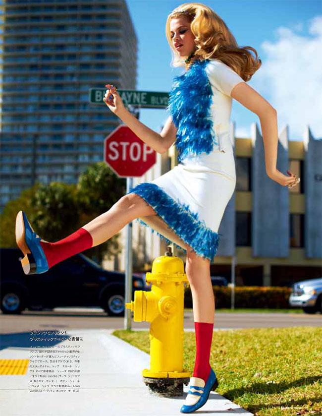 Hailey Clauson by David Vasiljevic for Numéro Tokyo April 2012