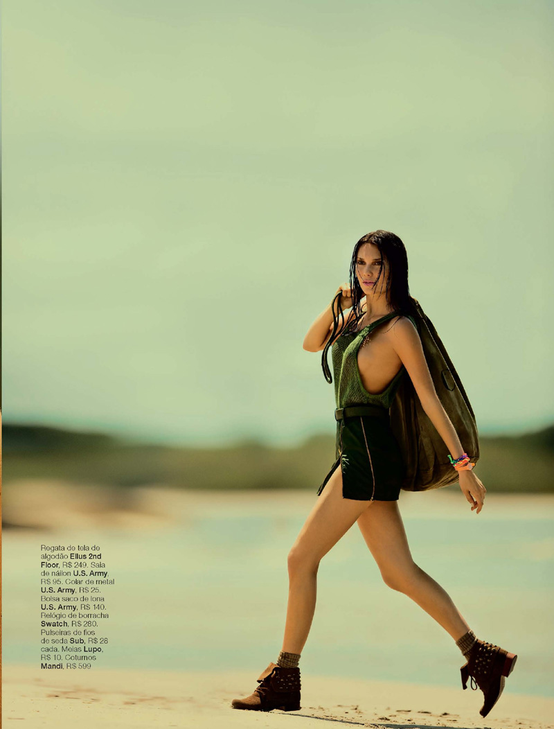 Julia Faria by Fernando Louza for Marie Claire Brazil