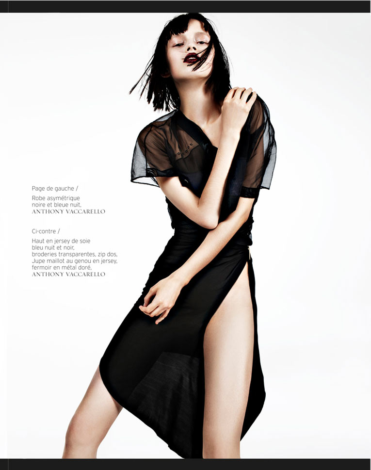 Ranya Mordanova by Naomi Yang for French Revue de Modes #20
