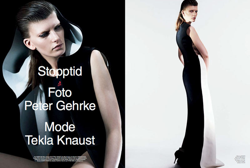 Valerija Kelava & Fatima Siad by Peter Gehrke for Rodeo Magazine