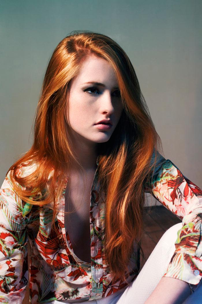 Fresh Face | Annika Backes by Charlotte Moulard