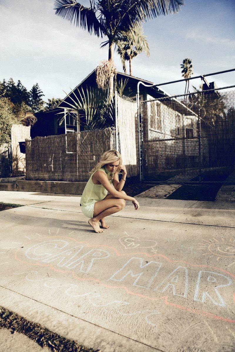 Alexandra Spencer for Car Mar Spring 2012 Lookbook by Daniel Kincaid