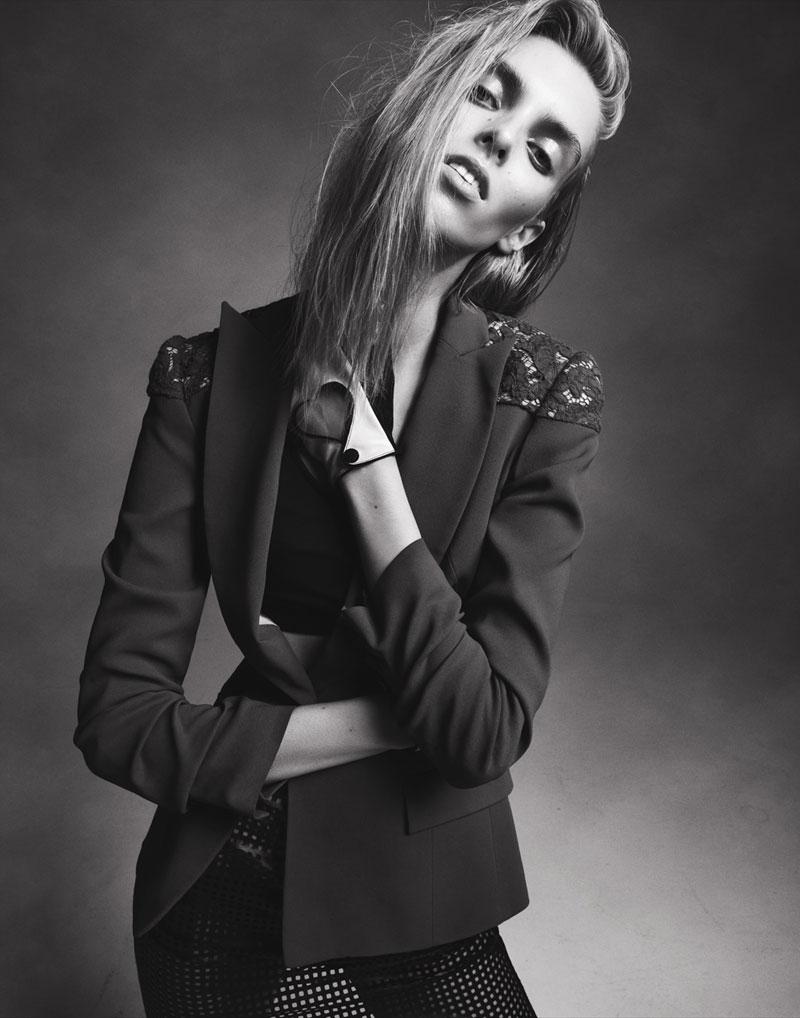 Chloe Memisevic by Benjamin Vnuk for Fashion Gone Rogue