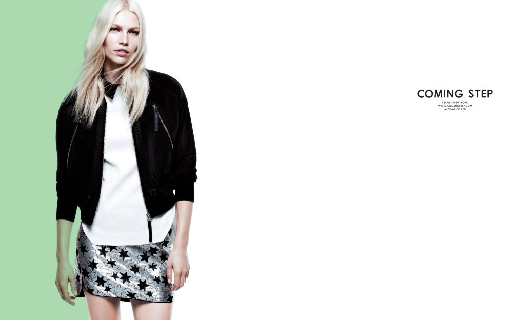 Aline Weber for Coming Step Spring 2012 Campaign by Daniel Jackson