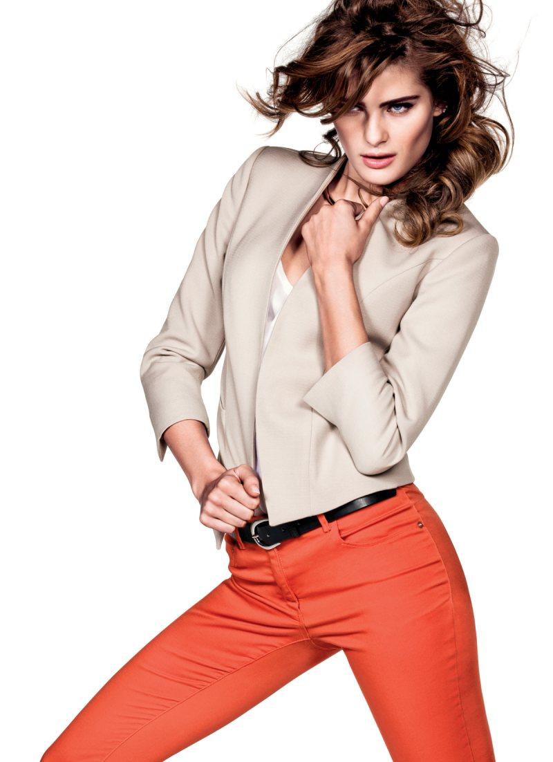 Sasha Pivovarova, Natasha Poly, Isabeli Fontana & Anais Mali for H&M Spring 2012 Campaign by Inez & Vinoodh