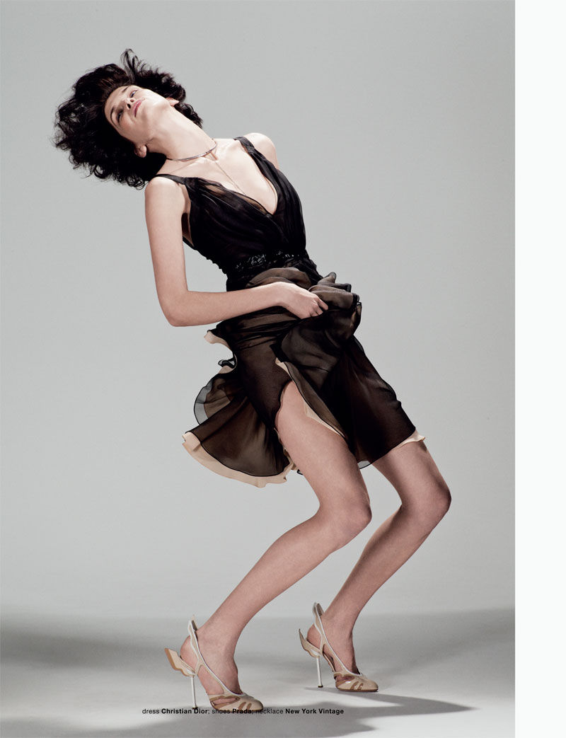 Kristina Salinovic by Tim Barber for Muse Spring 2012