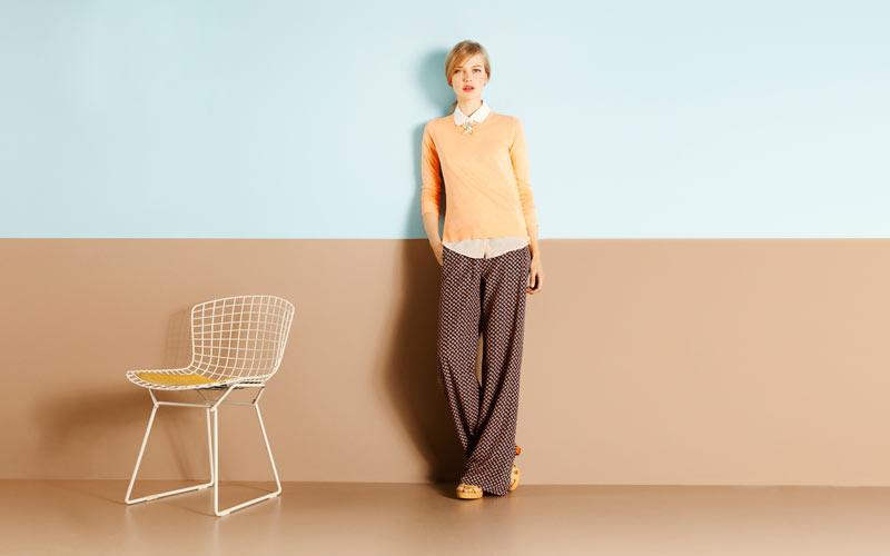 Anabel Van Toledo for Massimo Dutti March 2012 Lookbook