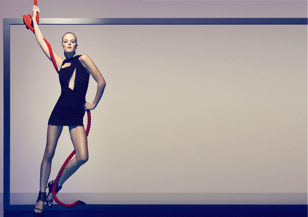 Shannan Click for Plein Sud Spring 2012 Campaign by Camilla Akrans
