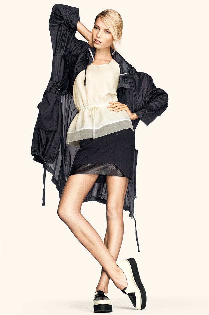 Vika Falileeva for H&M Trend Update by Peter Gehrke