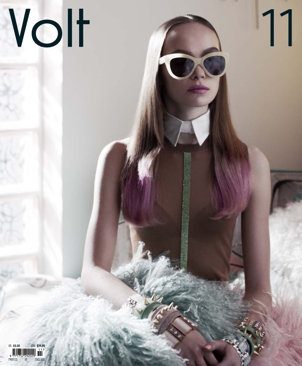 Anne Kruger by Paolo Zerbini for Volt #11