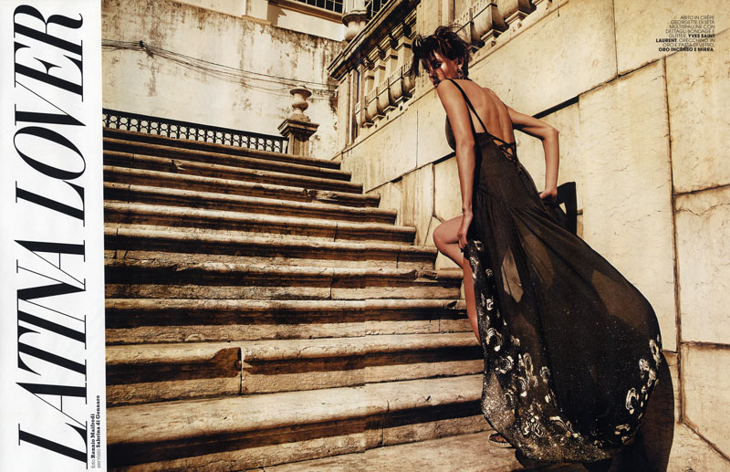 Alison Nix by Rennio Maifredi for Marie Claire Italia April 2012