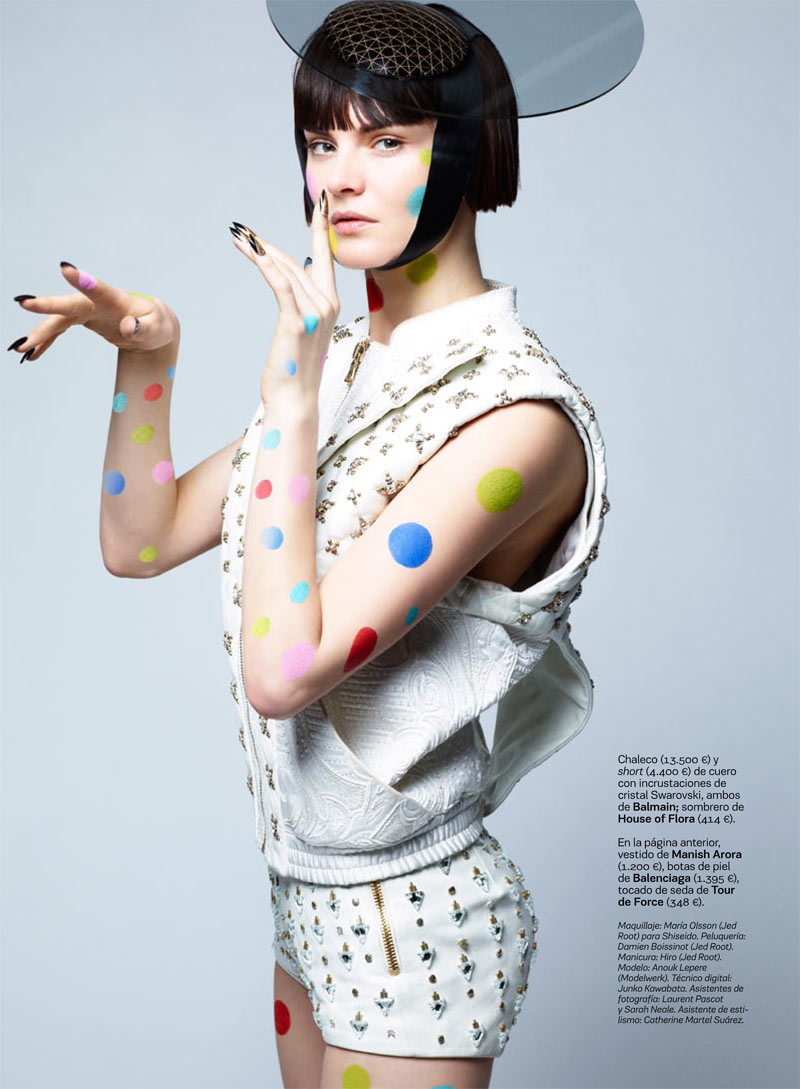 Anouck Lepere by Satoshi Saikusa for S Moda