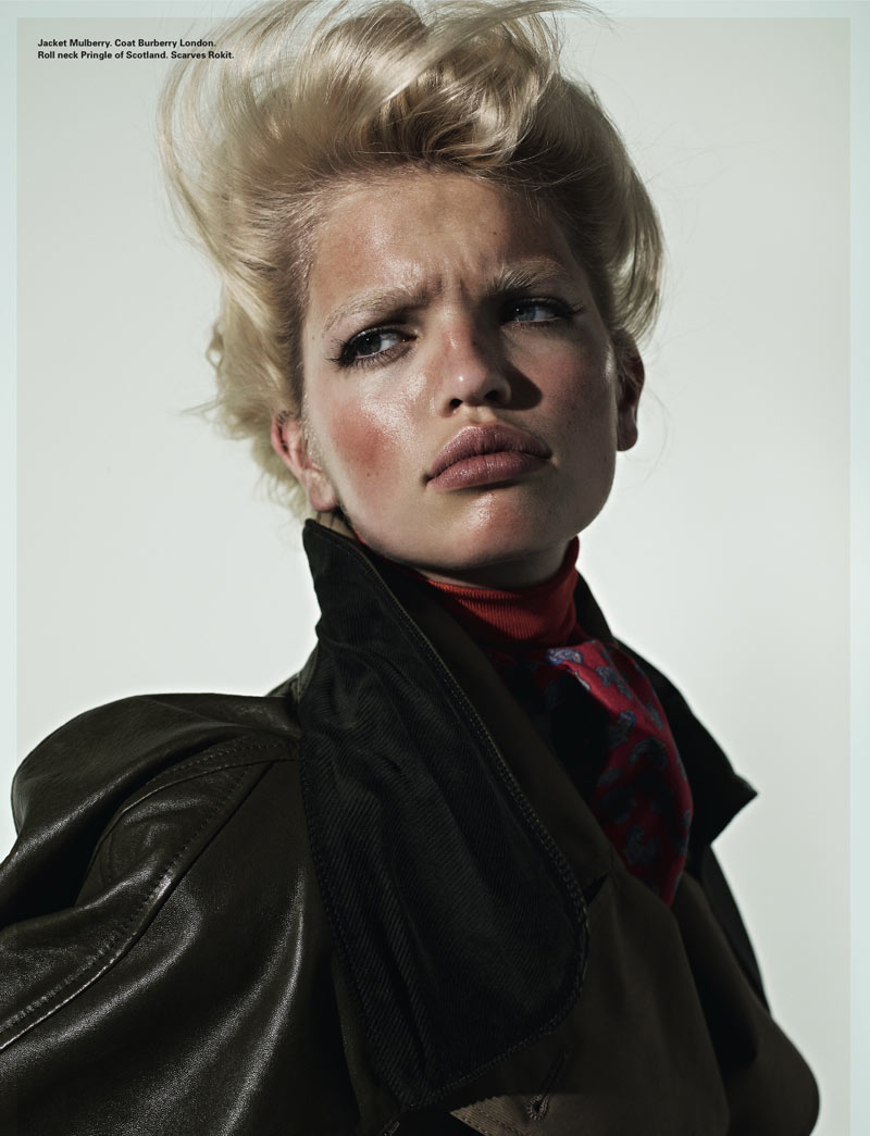 Daphne Groeneveld by Richard Bush for i-D Spring 2012