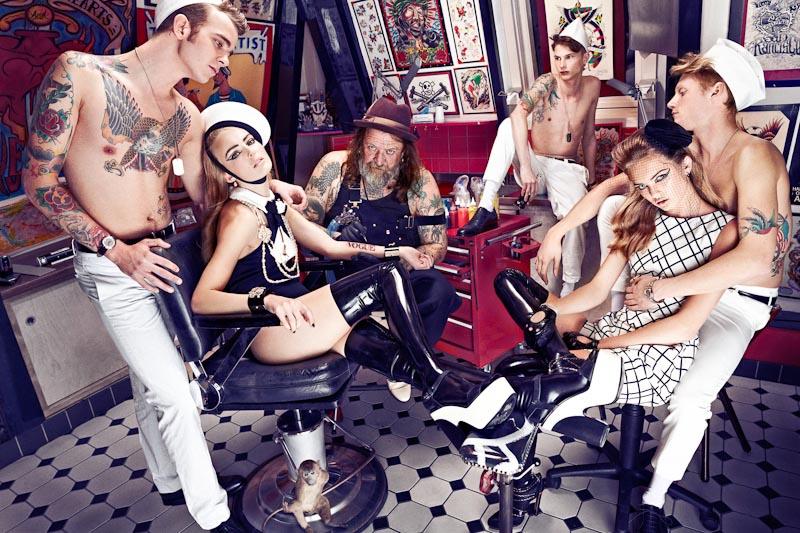 Ymre Stiekema, Josefien Rodermans, Romee Strijd & Others by Marc de Groot for Vogue Netherlands April 2012