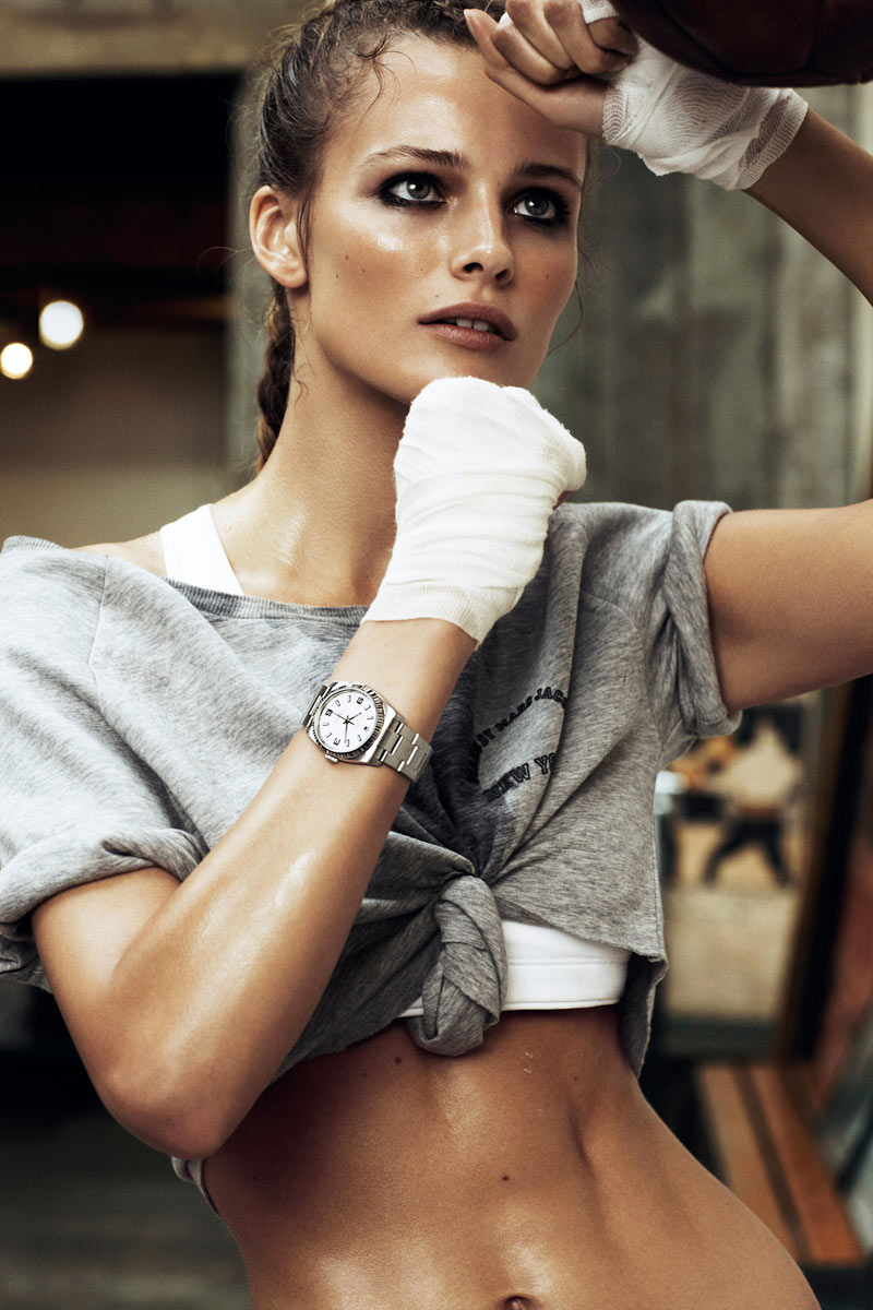 Edita Vilkeviciute by Lachlan Bailey for Vogue Paris April 2012