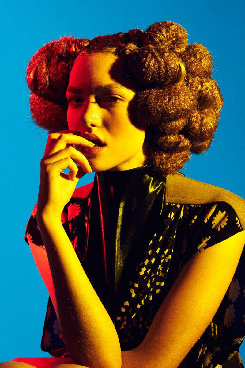 Ataui Deng, Jeneil Williams, Cora Keegan & Nairoby Matos by Elle Muliarchyk for Garage S/S 2012
