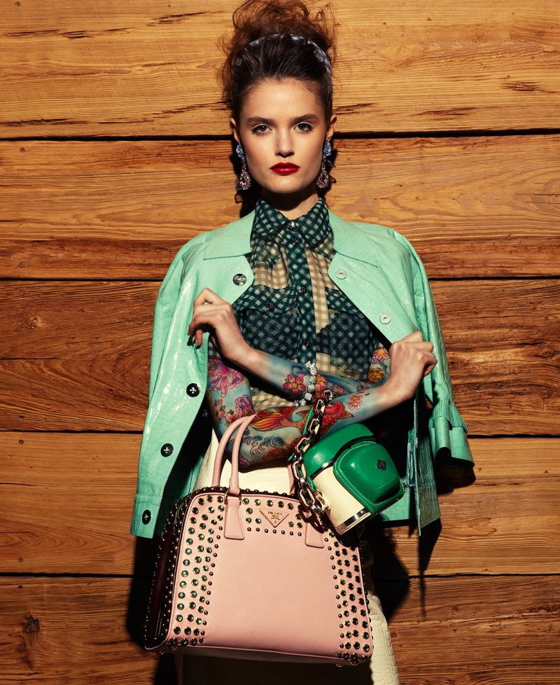 Katie Fogarty by Jason Kim for Blackbook April/May 2012
