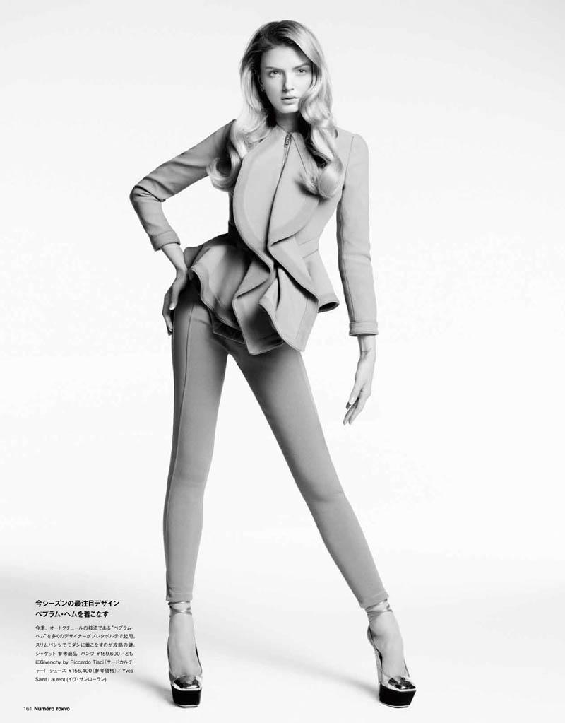 Lily Donaldson by Nino Muñoz for Numéro Tokyo April 2012