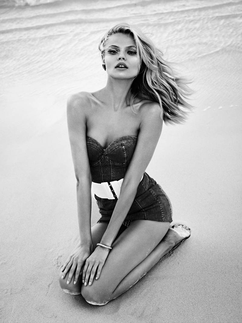 Magdalena Frackowiak by Lachlan Bailey for Vogue Paris April 2012