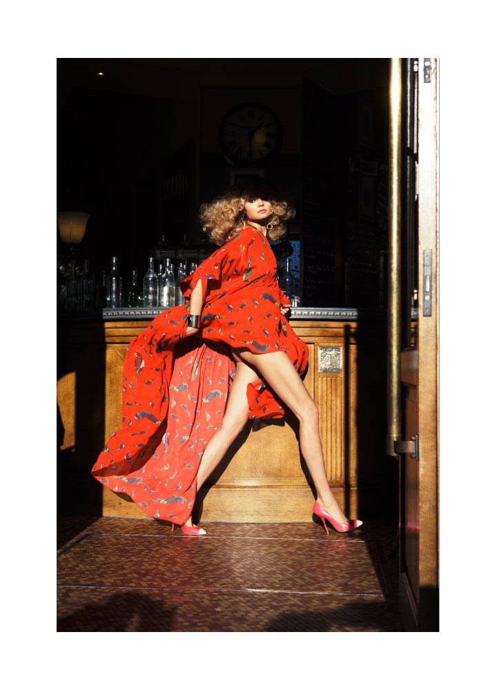 Magdalena Frackowiak by Claudia Knoepful & Stefan Indlekofer for Vogue Russia April 2012